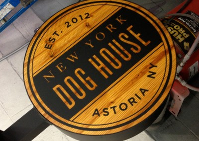 Dog House Fabrication at Sign Select