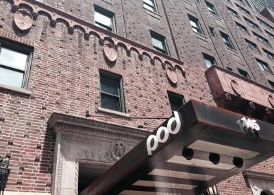 Pod39 Hotel Entry