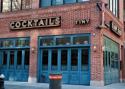 Tiny Fork Signage designed by Bill Brissette