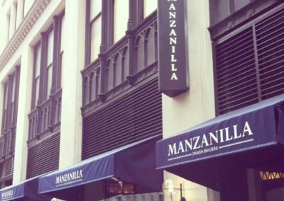 manzanilla-signage
